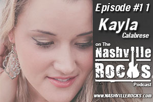 Kayla Calabrese Nashville Rocks Episode Art